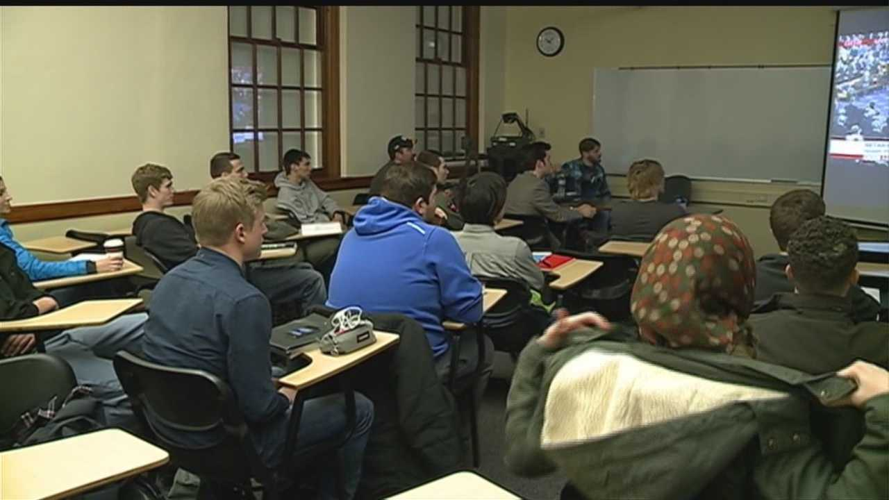 Students in a University of Nebraska-Omaha class say that it can be difficult to find a safe space to ask questions and share opinions about controversial issues.