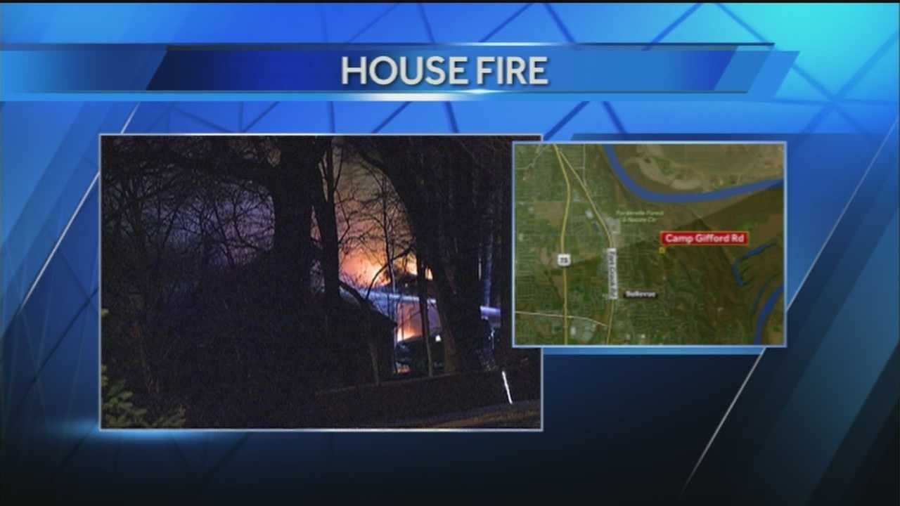 Fire investigators are still working to find the cause of the fire that destroyed a Bellevue home Wednesday night.