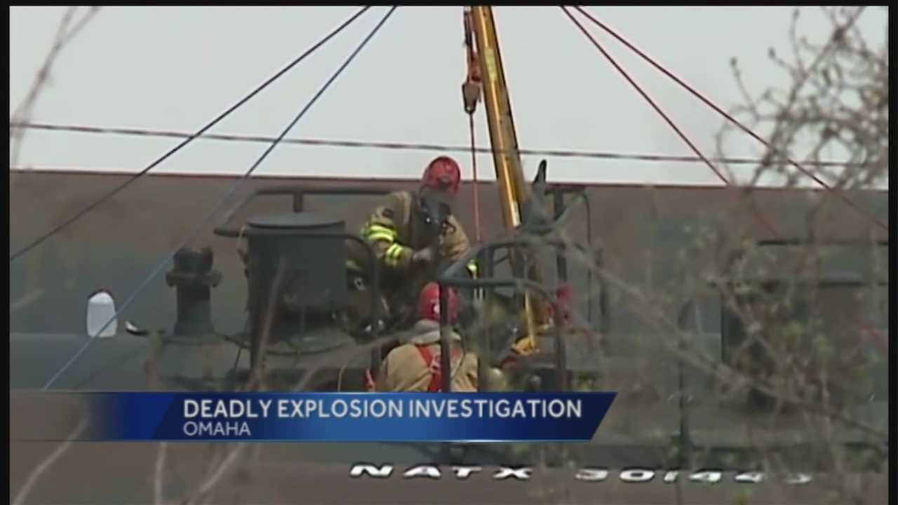 We're learning more about a fatal explosion in a tank car at an Omaha rail yard Tuesday.