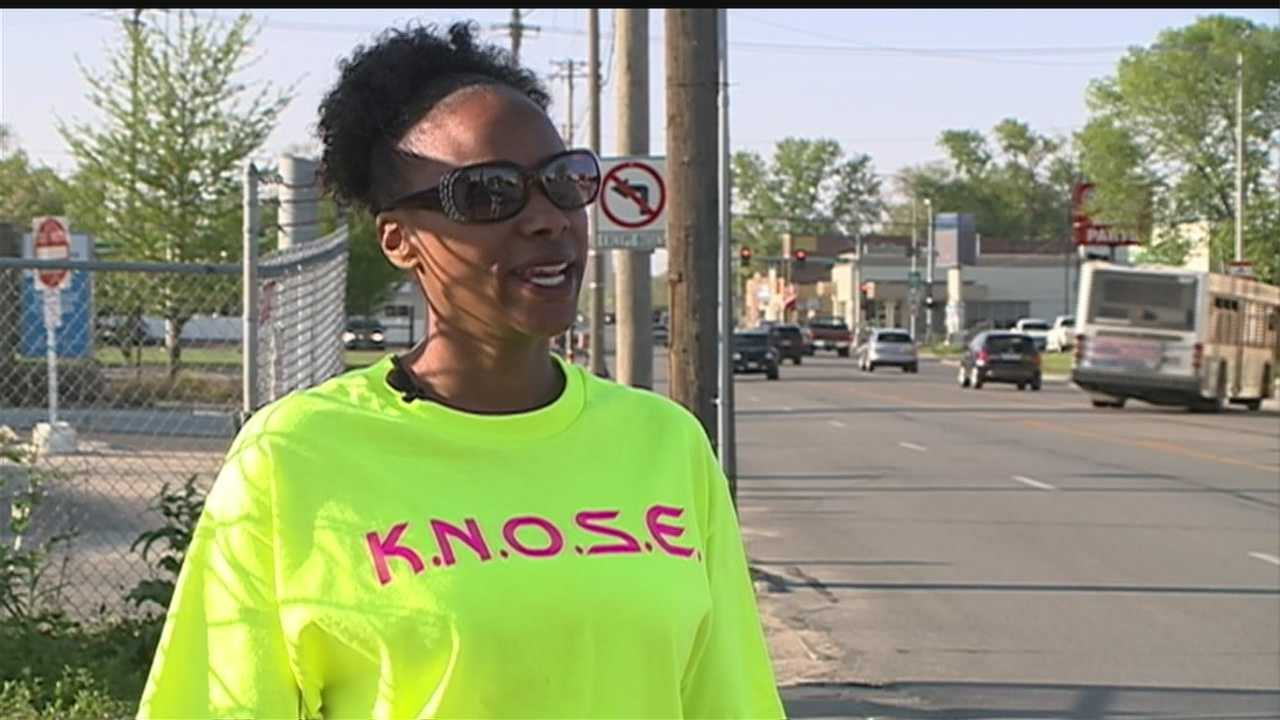 "The message and goal for volunteer patrols in North Omaha is ""No murders in May."""