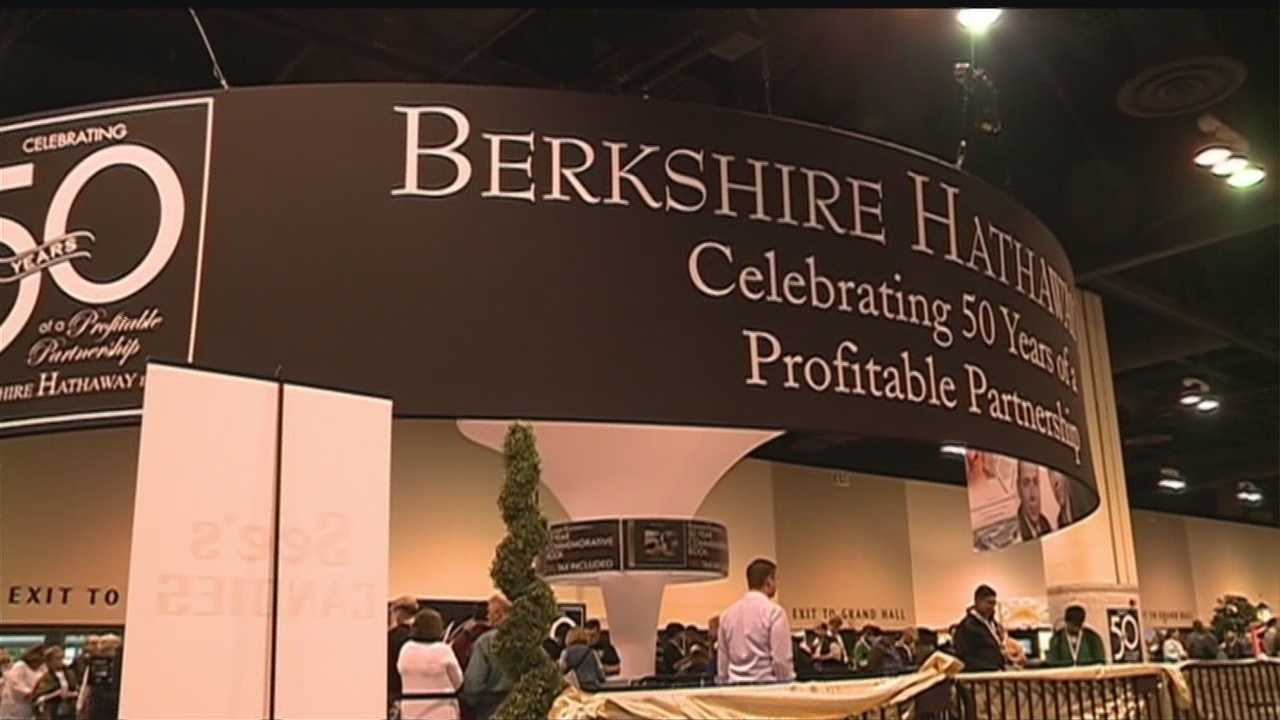 Omaha-based Berkshire Hathaway is celebrating 50 years of Warren Buffett at the helm with tons of events going on over the weekend.