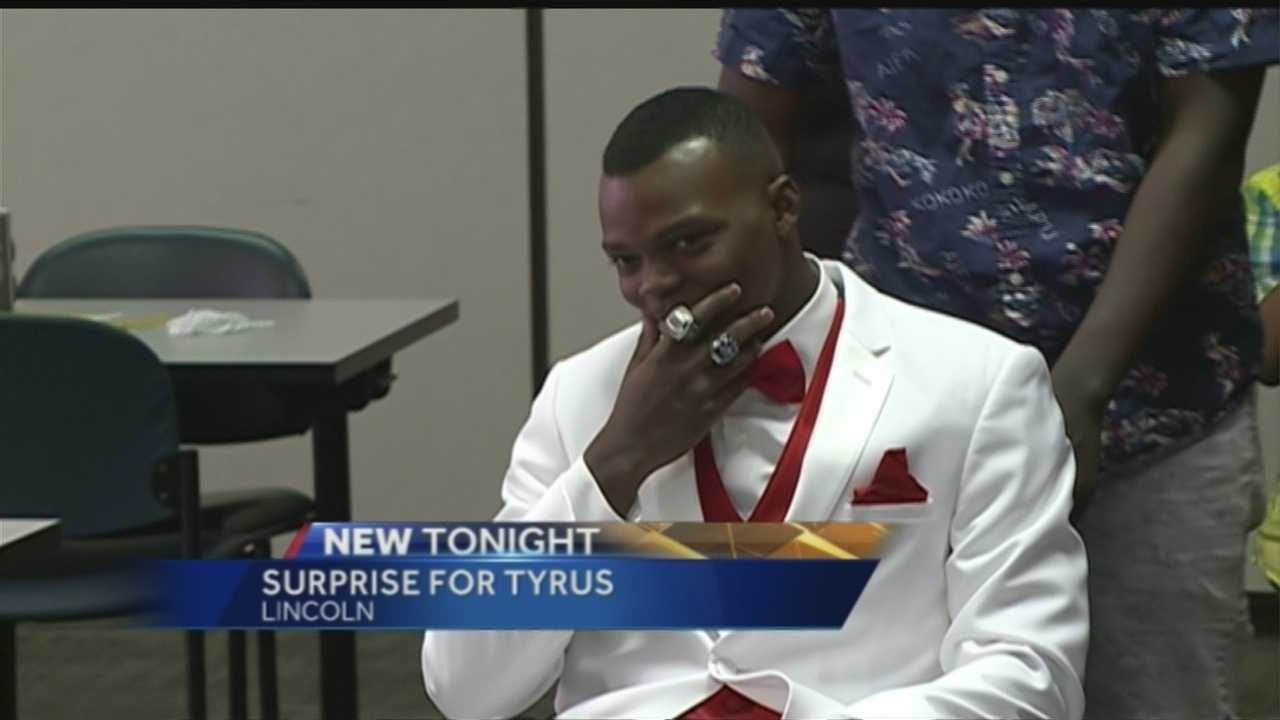 Eighteen-year-old Tyrus Harris is recovering after a shooting at Madonna Rehabilitation Hospital in Lincoln, but his mom didn't want him to miss his high school prom.