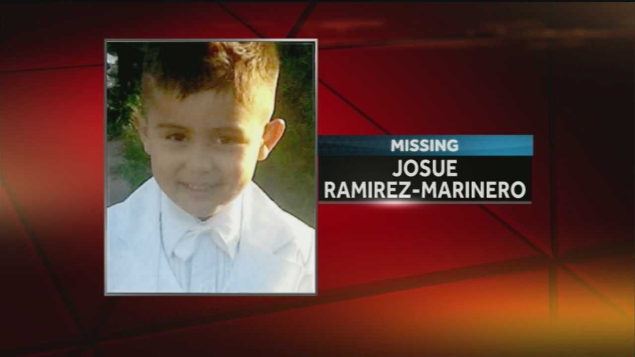 An Amber Alert was issued Thursday morning for 5-year-old Josue Ramirez-Marinero. He was last seen near 10th and Martha streets in South Omaha.