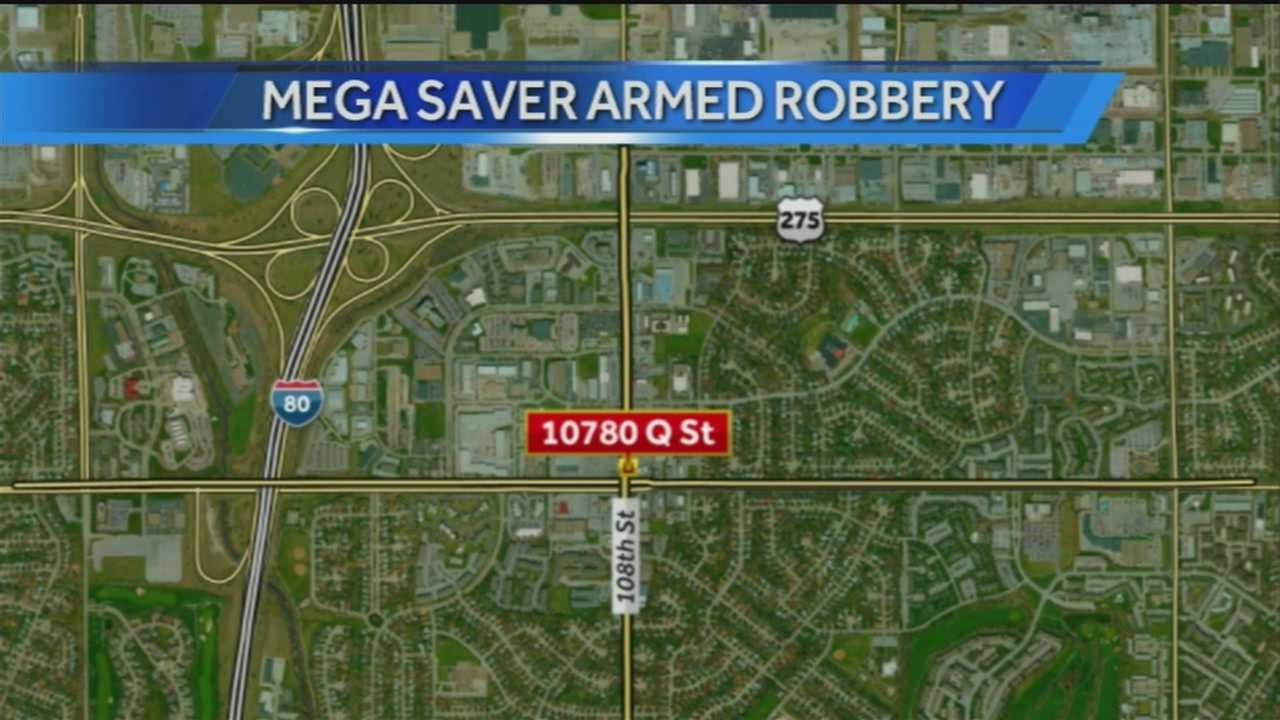 Police are looking for a person who they say robbed a southwest Omaha store.