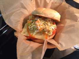 Spicy Buffalo Burger