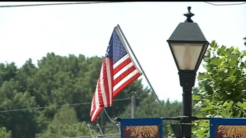 DaVonte McKenith is live in Ralston as the area prepares for the Fourth of July.