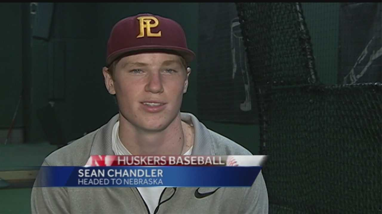 Papillion-LaVista right-handed pitcher Sean Chandler will go to Nebraska instead of signing a professional contract.  Chandler was selected in the 32nd round by the Milwaukee Brewers in last months baseball draft but has decided to continue his baseball career at Nebraska.