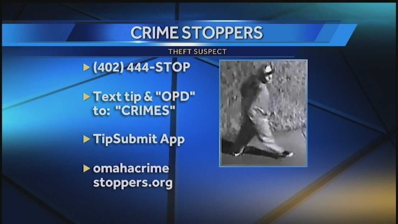 Omaha police believe that two men worked together in mid-June to steal military gear out of a car.