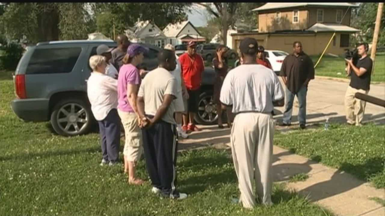 A group gathered to remember the man fatally shot Wednesday.