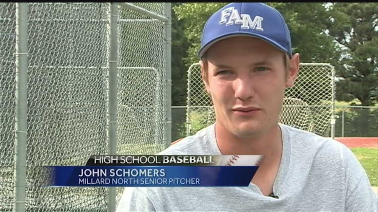 Pitcher's baseball playing days are over thanks to a rare injury. KETV's Matt Lothrop has the story.