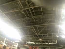 A state-of-the-art acoustic ceiling allows for better, more controlled surround sound for athletic events and concerts.