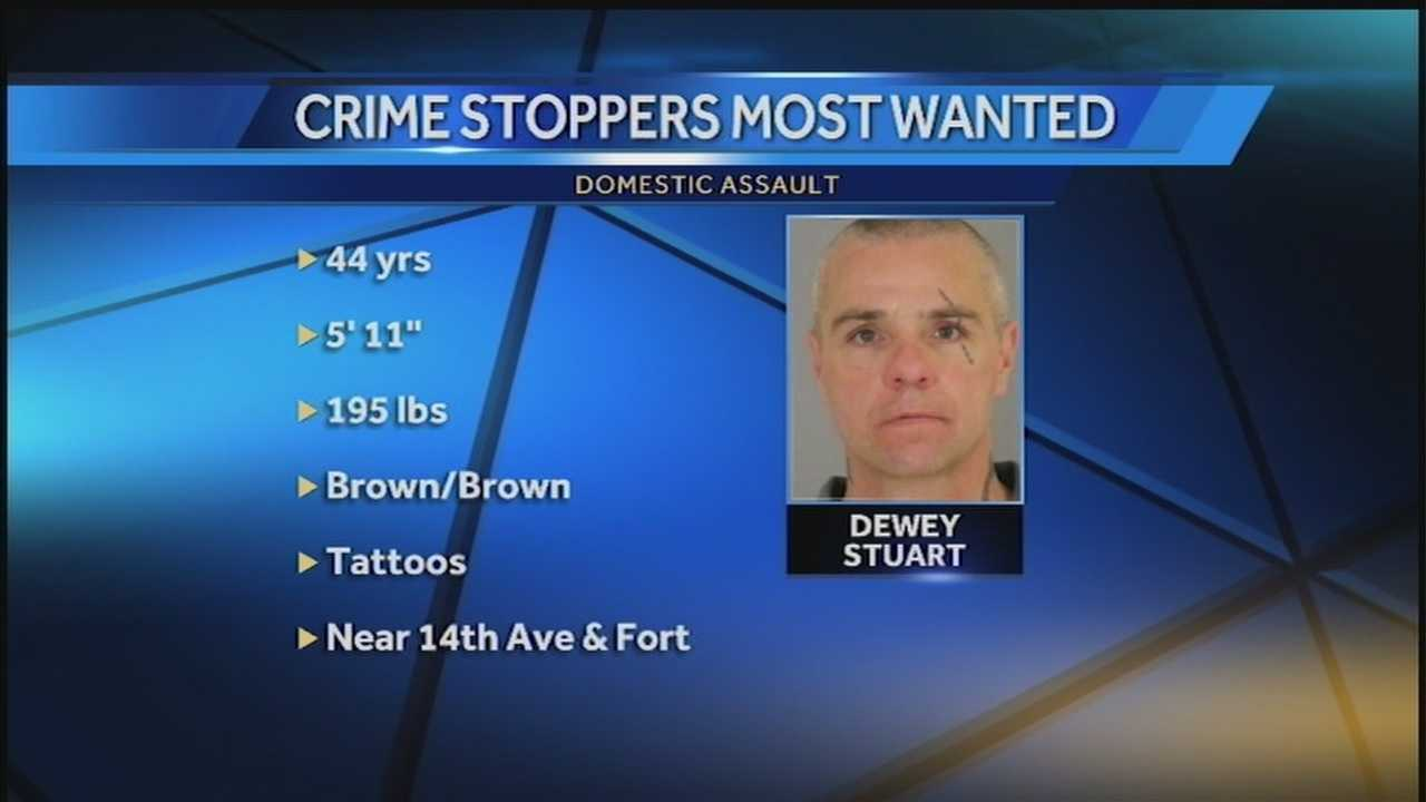 A man with a history of assaulting and sexually assaulting women is on the run Sunday night.