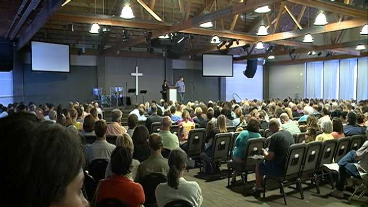 Waypoint Church has become a place of refuge for those mourning the loss of three Omaha people killed in a South Dakota crash Thursday.