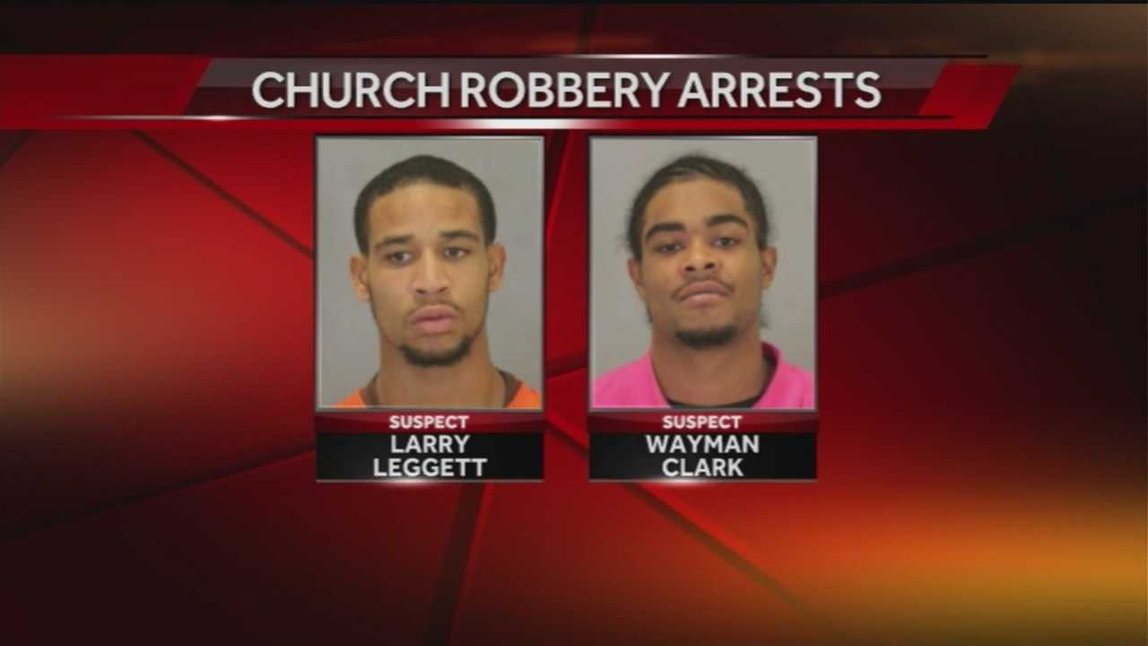 Police said a second suspect accused of mugging a 76-year-old woman at a church is in jail.