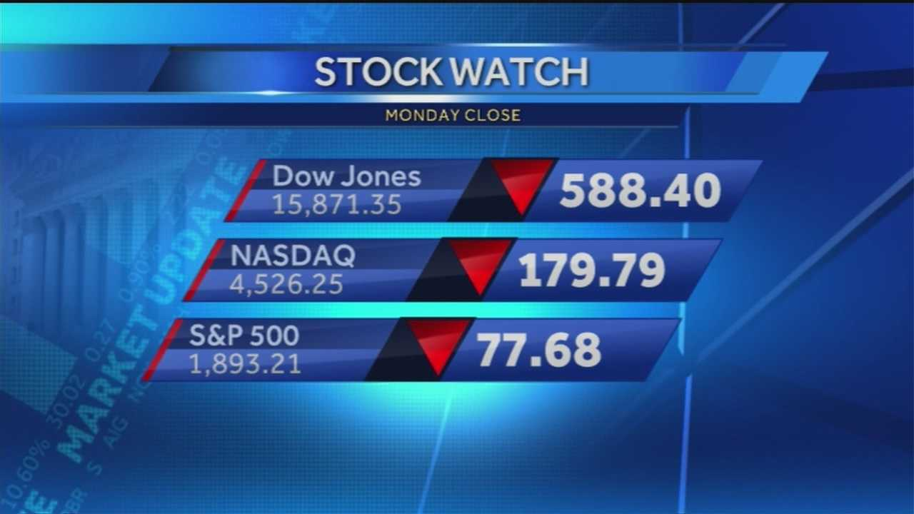 Smiles at the opening bell at the New York Stock Exchange quickly turned to panic Monday as traders frantically moved money, lots of it in people's 401(k)s.