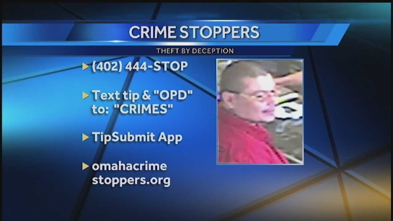 Omaha police are looking for a man who allegedly stole jewelry from a store in late April.
