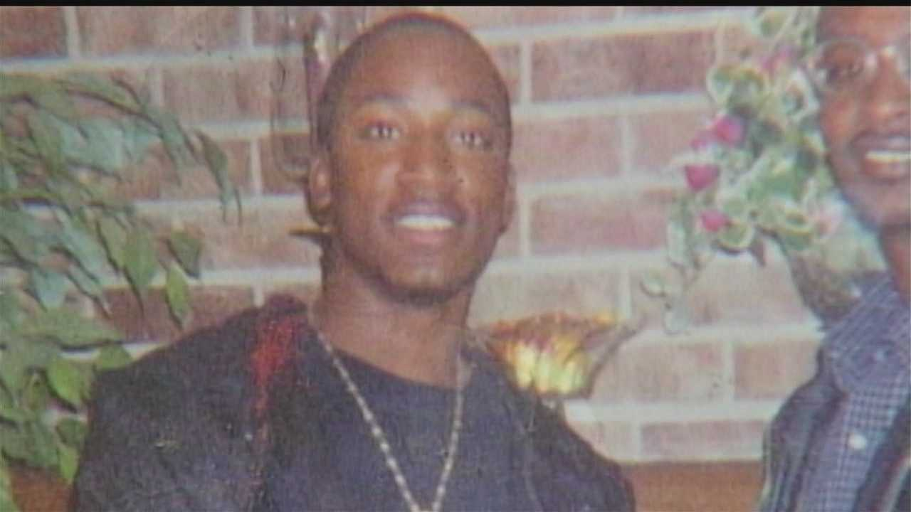 The mother of Terrill Williams, who was killed in September, 2003, wants her son's killer back in jail.