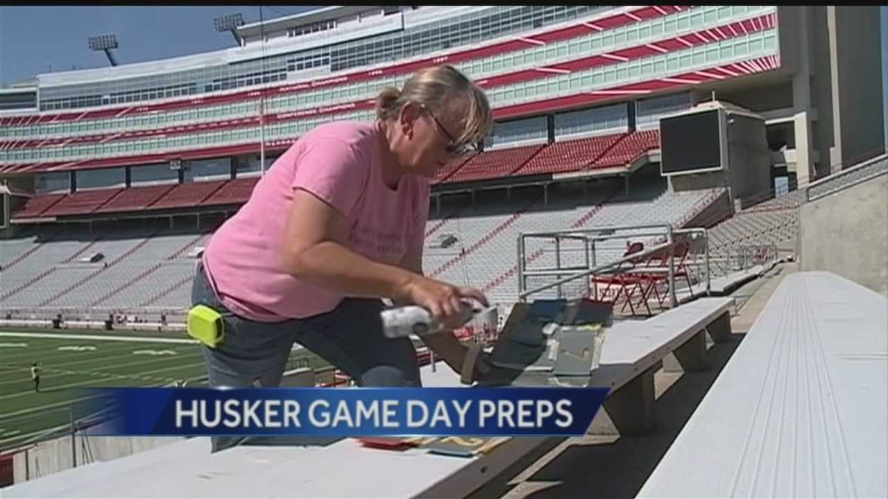 A hot day for the start of the Husker footballs season