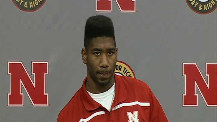Nebraska defensive back Jonathan Rose spoke to the media Monday.