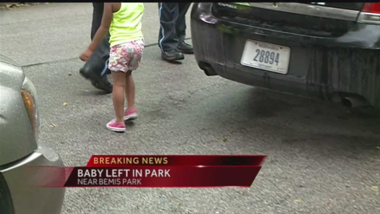A child was found left alone at Omaha's Bemis Park near 33rd and Lincoln Boulevard and is now in police custody.