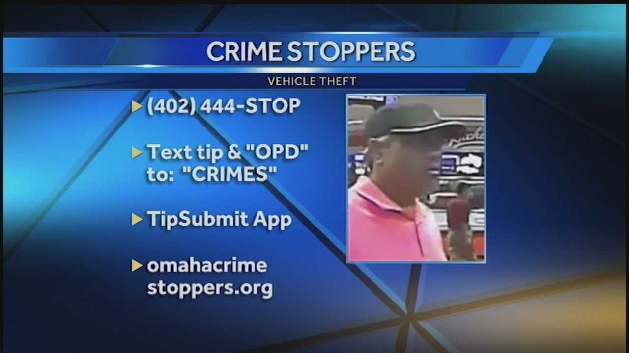 A man steals an SUV that was left running in a Quik Trip parking lotl