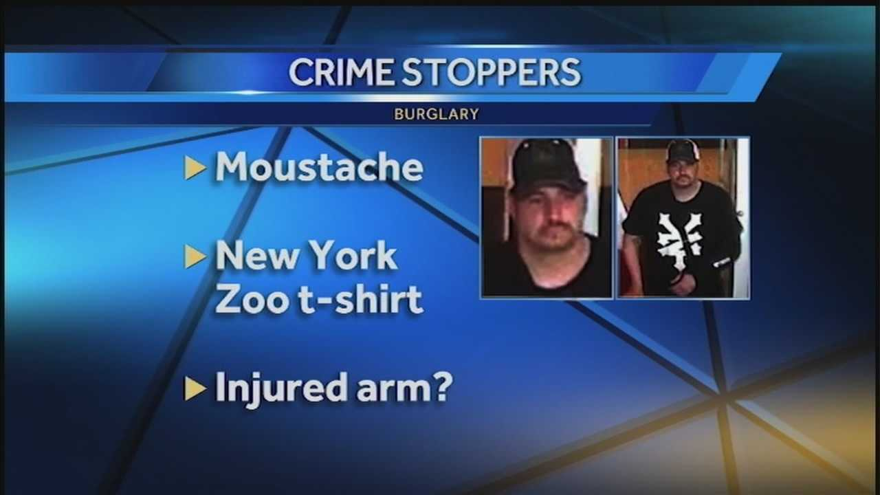 Authorities are searching for a man believed to be have been involved in a theft.