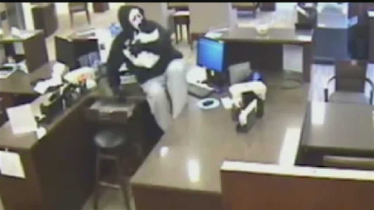 The Omaha Police Department has released video of Tuesday's bank robbery in the Omaha metro area.
