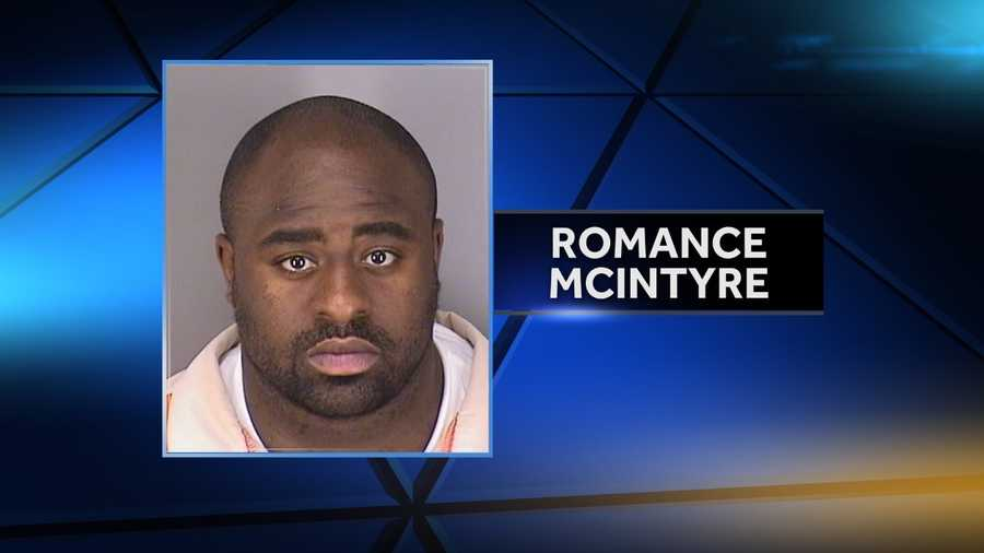 Romance McIntyre. Two counts of first-degree sexual assault of a child under 12 and two counts of third-degree sexual assault of a child.