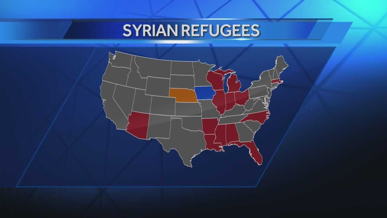 Nebraska Gov. Pete Ricketts announced Monday that he opposes bringing Syrian refugees to the state and is asking agencies to end their efforts to resettle refugees from the country.
