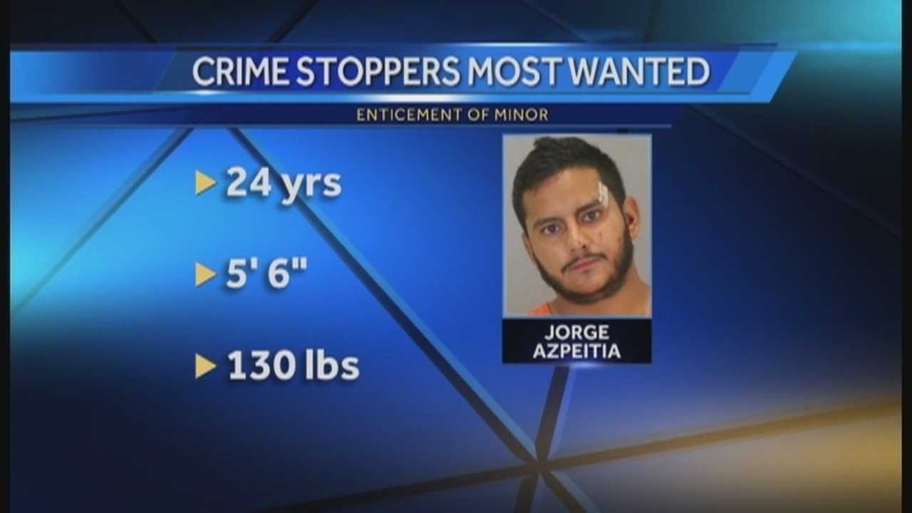 Police are looking for a man who allegedly told a girl he wanted to rape her.