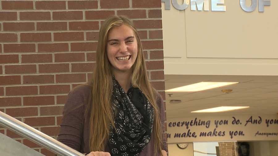 Jessica Harms, Bellevue East High School - Jessica has a 4.0 GPA and is a section leader in marching band. She is involved in National Honor Society, Youth Leadership Omaha, Dojo Percussion group and received the Eisenhower Award for Outstanding Leader of Character.