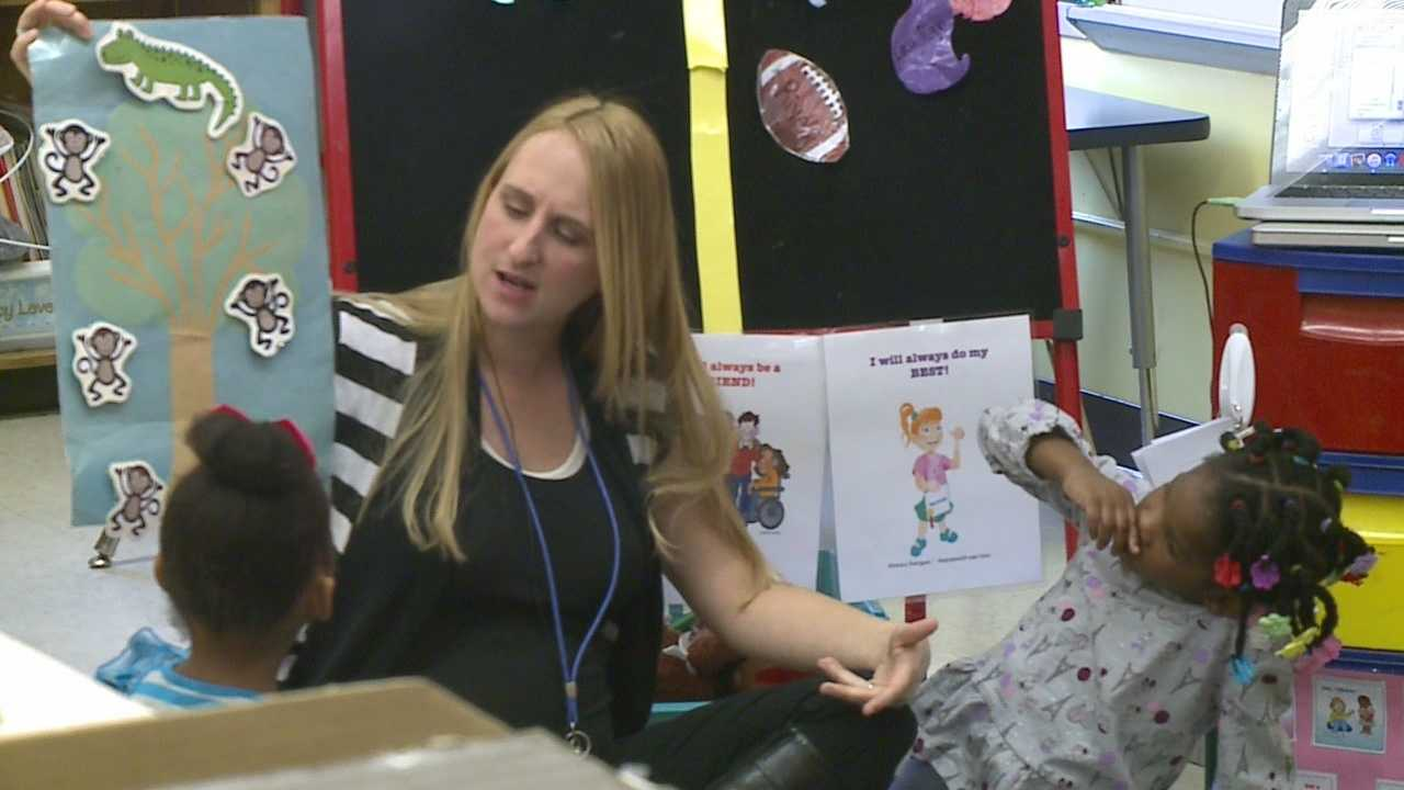 Some Omaha children are test driving a training program and don't even know it.