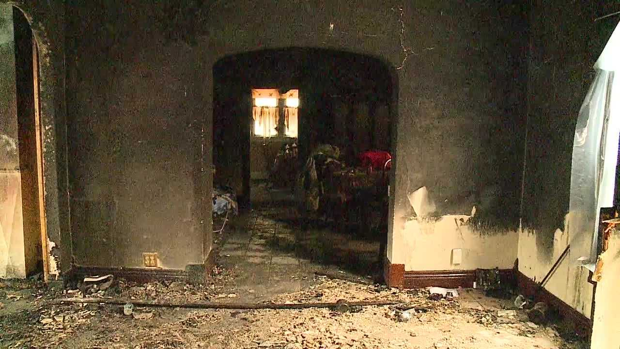 A south Omaha family is alive Friday night after their home was destroyed in a Thursday night fire.