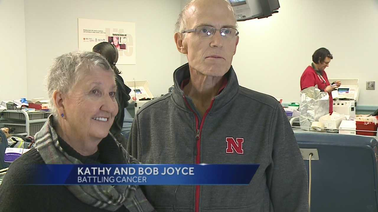 Blood drive to support couple fighting cancer