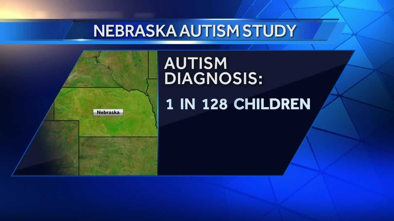 There's a new study showing the number of children in Nebraska with autism, and the results surprised local experts.