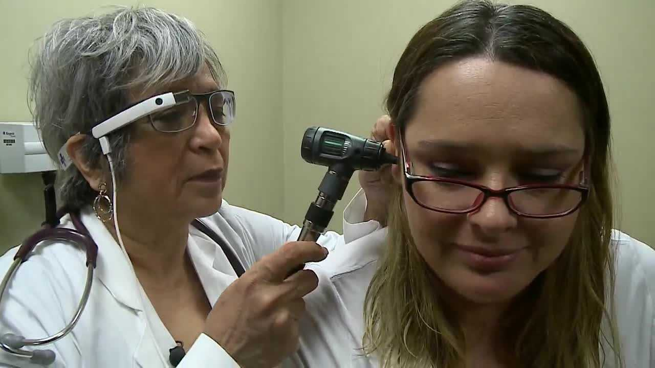 Doctors at CHI Health Center are using Google Glass to aide them in the care they give their patients.