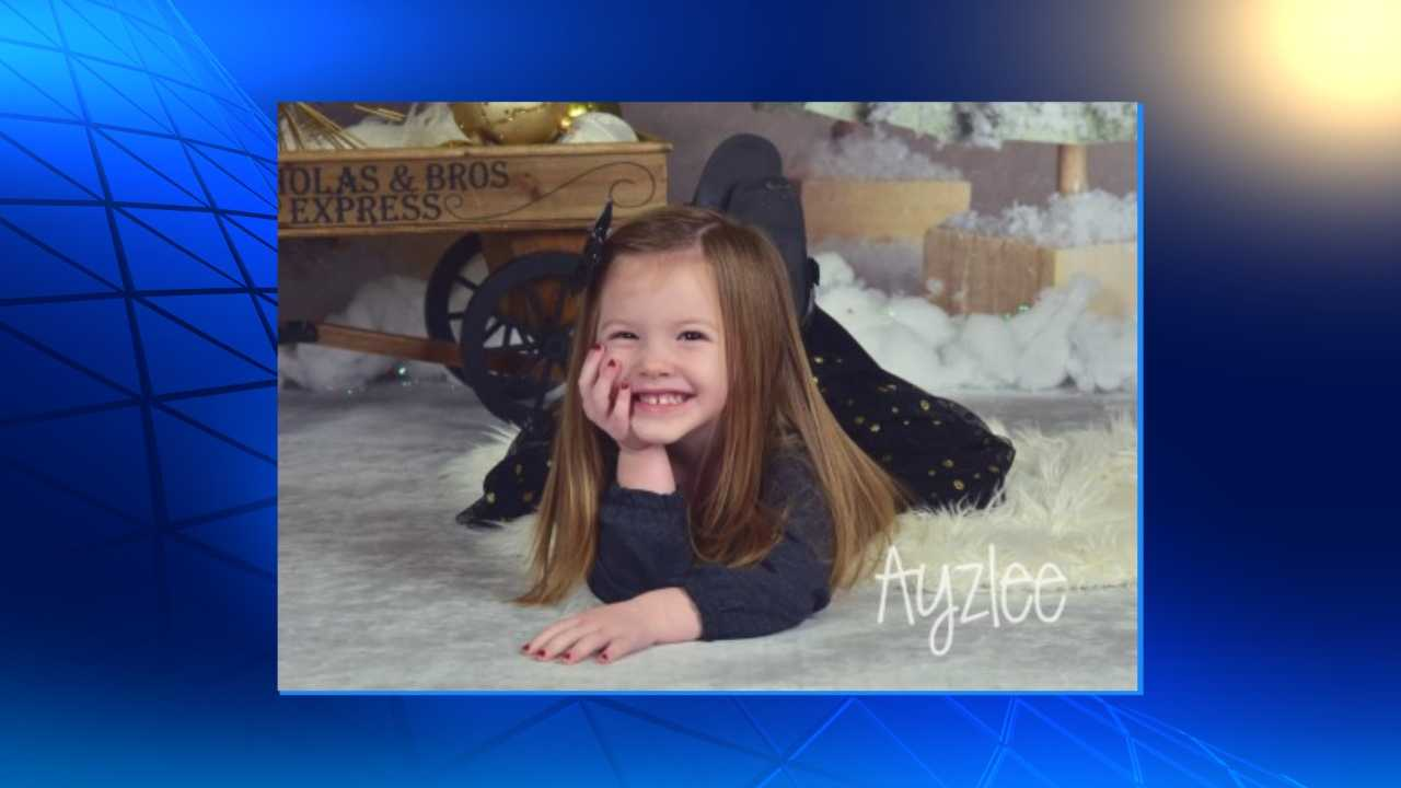 An Elk Horn, Iowa, family is working to keep other people healthy after their 3-year-old girl, Ayzlee McCarthy, died of the flu last year.