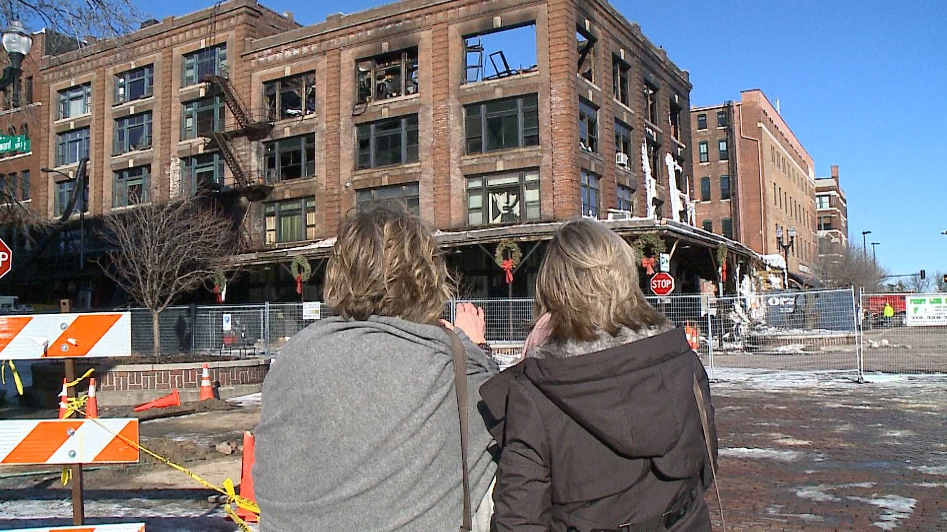 For the first time since the Old Market fire earlier this month, the owner of Nouvelle Eve is speaking out about that day and her future plans.