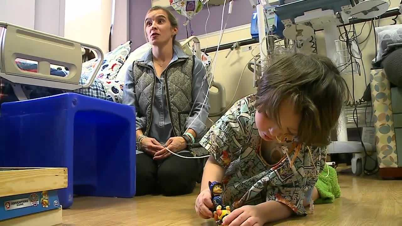 Doctors had given up, telling the little boy's parents that their son wouldn't survive. However, after a journey that sent the Oklahoma family to Omaha, a procedure saved the boy's life.