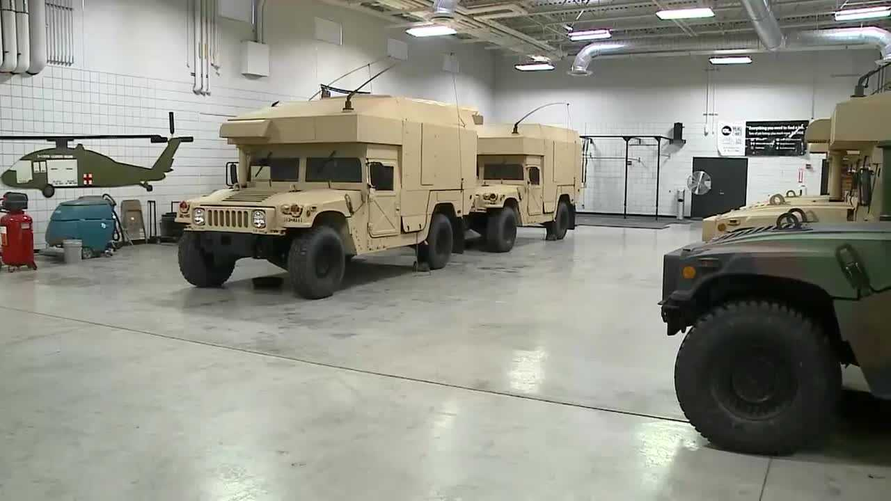 Snow plow drivers aren't the only ones ready to roll at a moment's notice: Nebraska's National Guard is mobilizing, just in case.