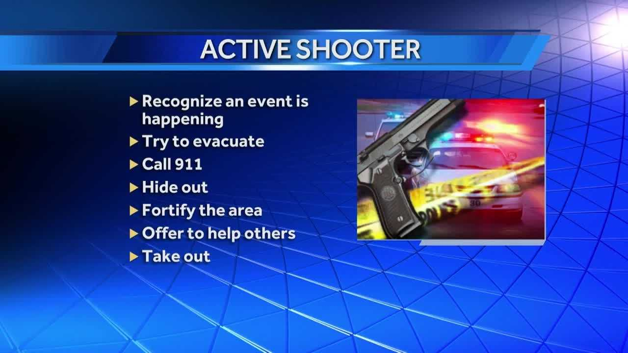 In the wake of Wednesday's active shooter incident in west Omaha, KETV NewsWatch 7 caught up with a local expert to get his take on what people need to keep in mind if caught in a similar situation.