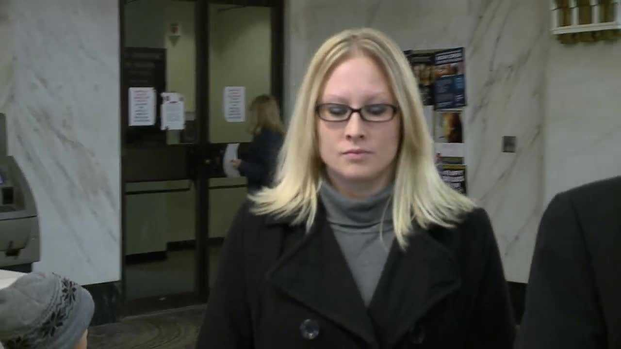 Jacqueline Eide pleaded guilty to criminal trespassing Friday morning.