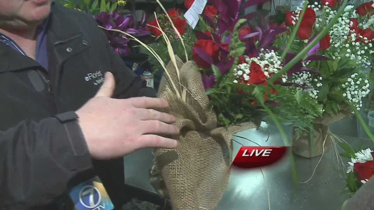 Valentine's Day with an Omaha florist