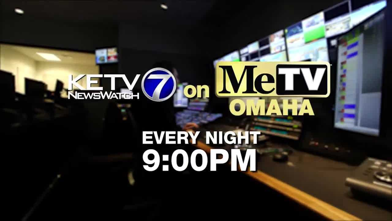 Watch KETV Newswatch 7 on MeTV Omaha at 9pm.