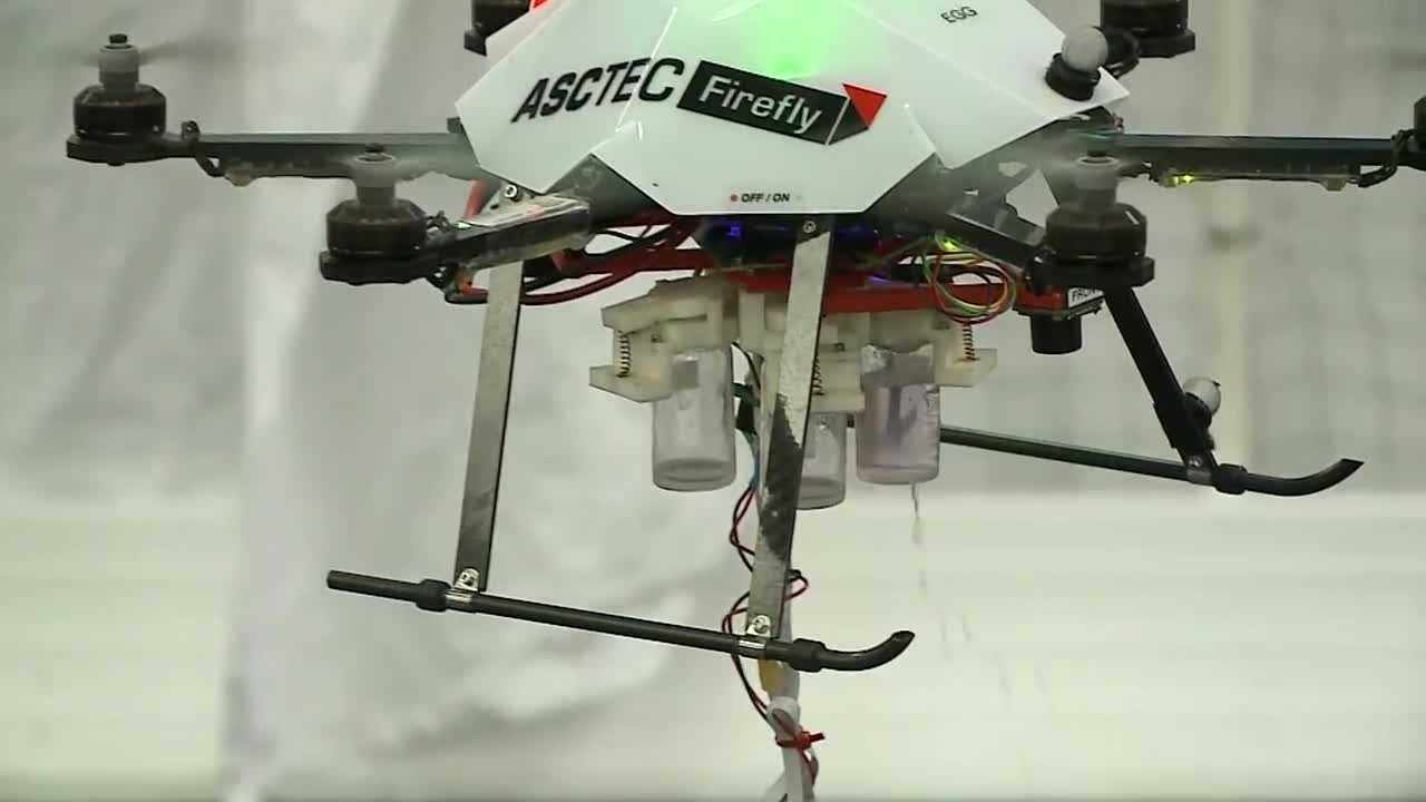 University of Nebraska researchers are taking unmanned aerial vehicles, or drones, to new heights. (KETV file image.)
