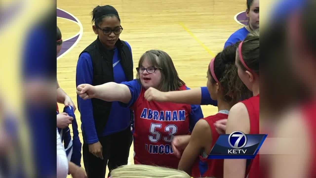 The community has embraced an Abraham Lincoln High School senior for two years, making her final year at the school something she'll never forget.
