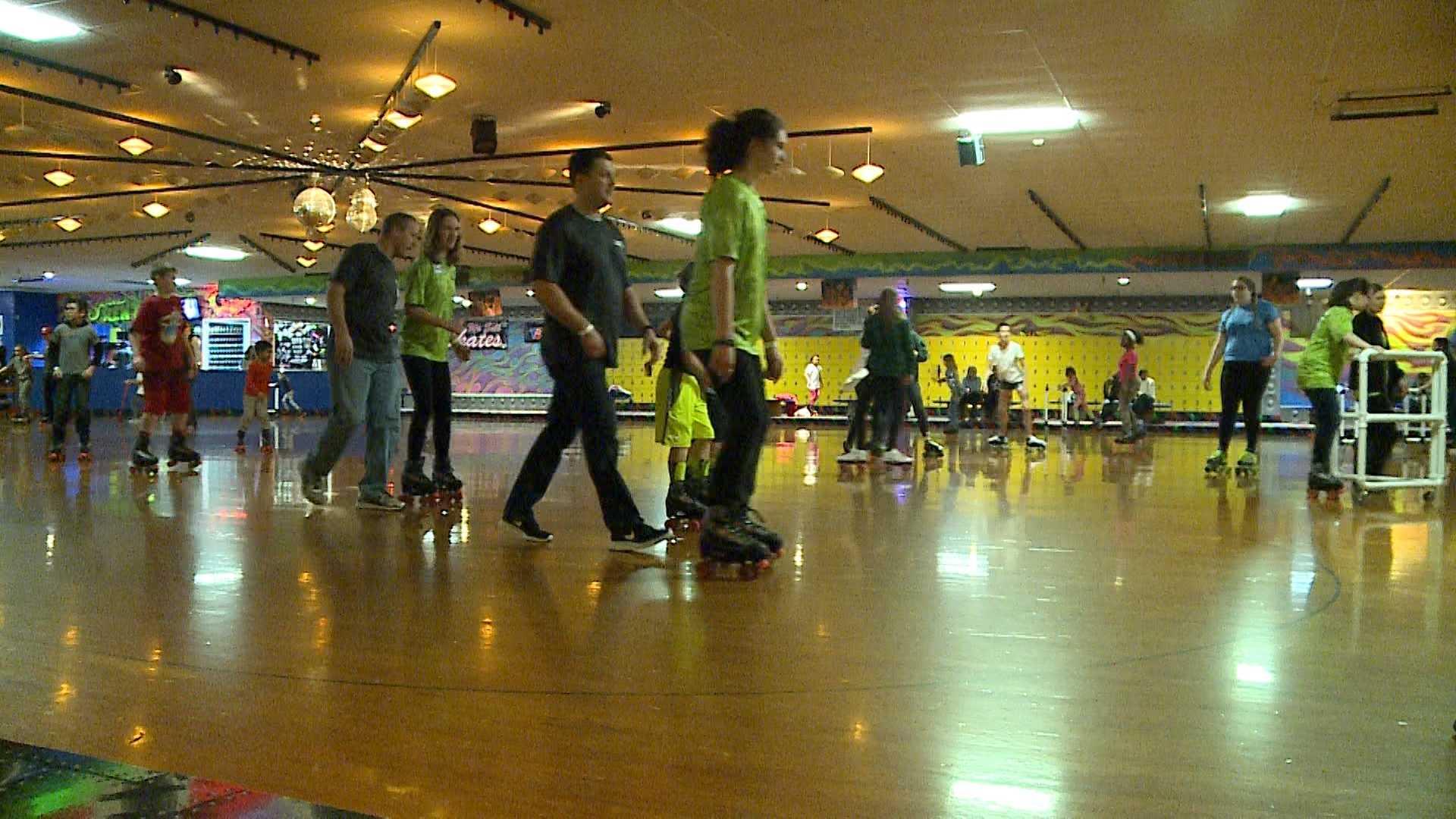 Roller skating omaha - Outlook Nebraska Inc Organizes Roller Skate Event For Blind Visually Impaired Kids
