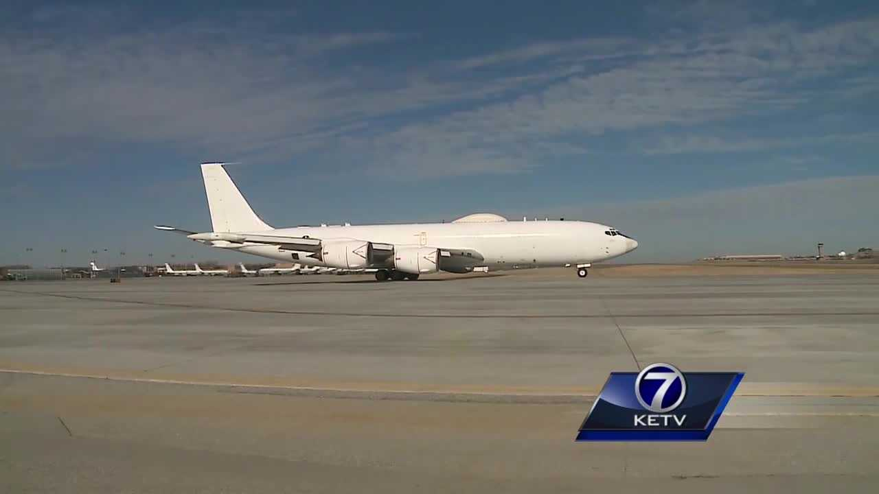 The effort to keep the 55th wing and 5,000 jobs at Offutt Air Force Base headed to the state capitol Monday.