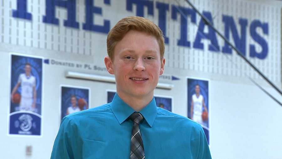 Nathan Jatczak, Papillion/LaVista South High School -- Nathan has a 3.95 grade point average and is a three sport athlete. He participates in tennis, basketball, track & field, Fellowship of Christian Athletes, National Honor Society and Hanging with the Titans.