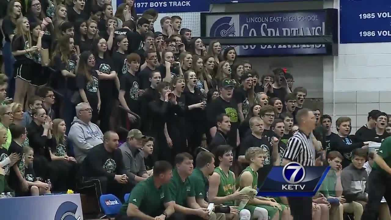 The violence that has marred some high school athletic events across the country has not been a problem for the boys and girls state basketball tournaments in Lincoln.